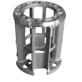 Investment casting mounting block
